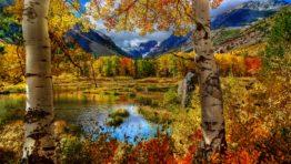 Autumn Mountains Wallpaper