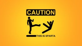 Caution This Is Sparta Wallpaper