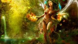 Fairy Warrior Wallpaper