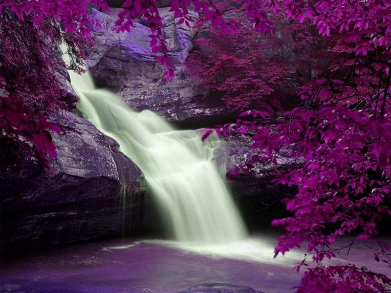 Fanstasy Waterfall Wallpaper