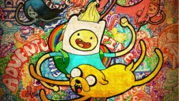 Finn And Jake Cartoon Wallpaper
