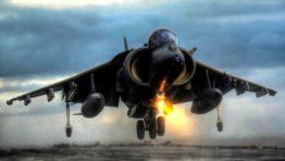 Harrier Vertical Takeoff Wallpaper