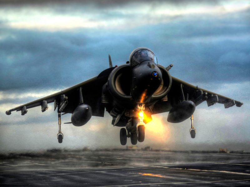 Harrier Vertical Takeoff Wallpaper