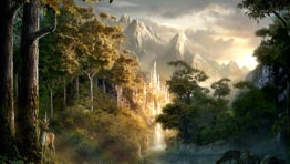 Lothlorien Wallpaper