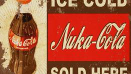 Rusty Nuka Cola Sign Wallpaper
