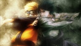 Sasuke And Naruto Fighting Wallpaper
