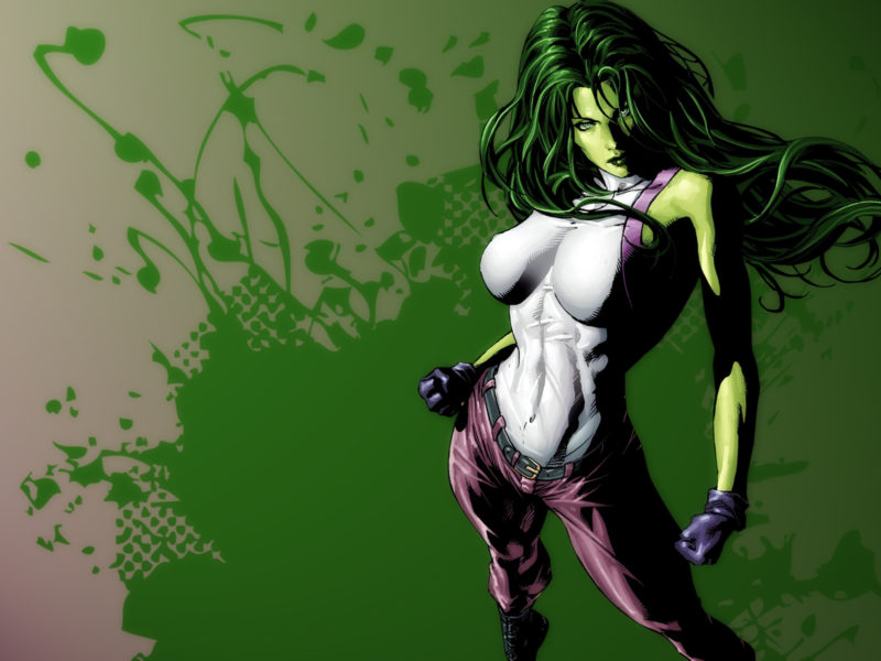 Sexy She Hulk Wallpaper