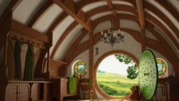 The Hobbit House Wallpaper