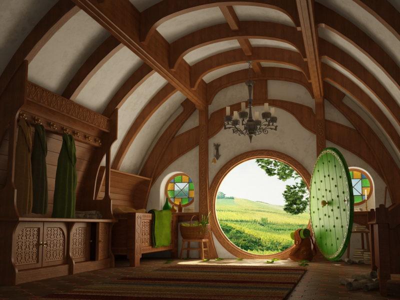 The Hobbit House Wallpaper