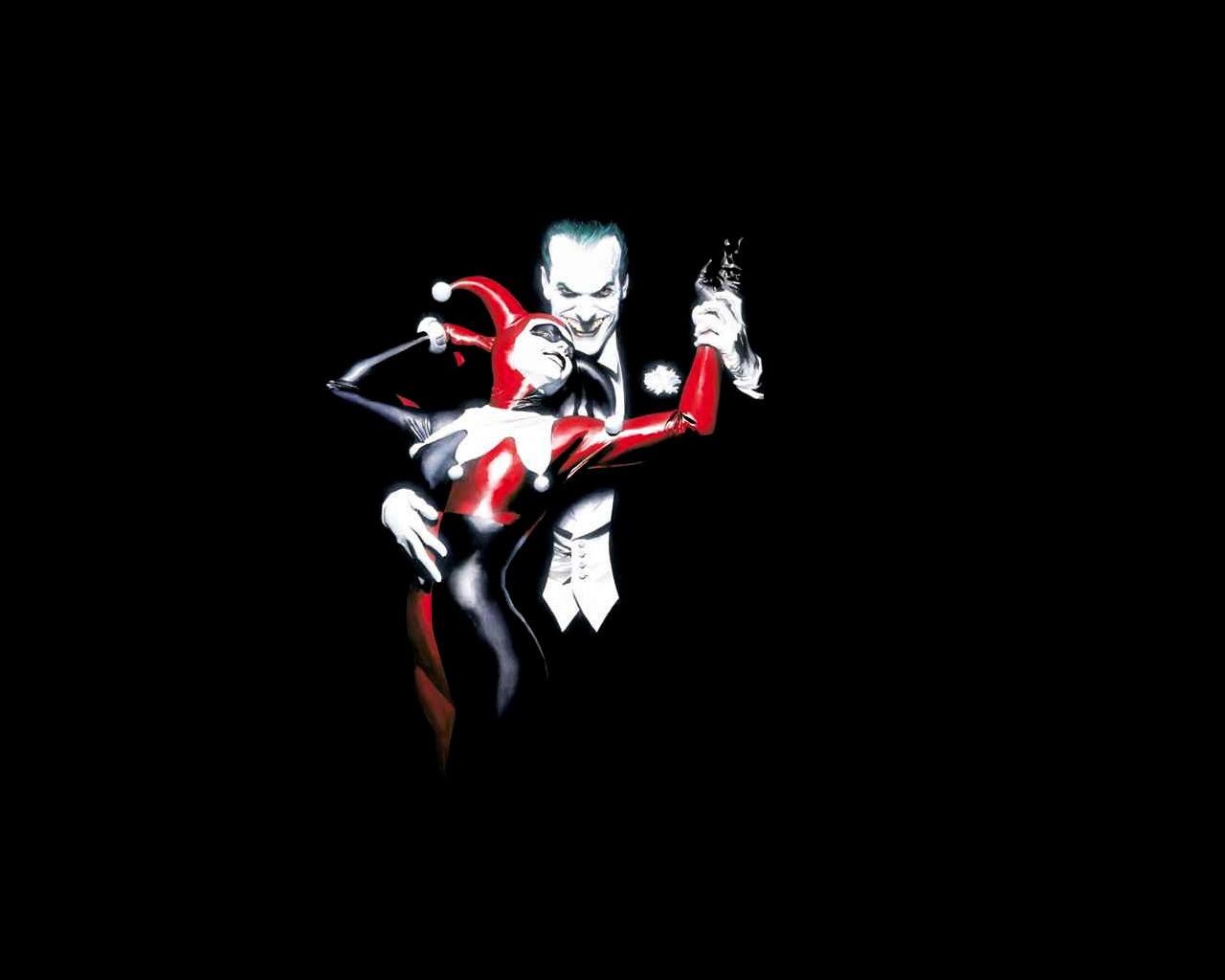 The Joker And Harley Quinn Wallpaper