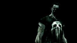 The Punisher In Black And Grey Wallpaper