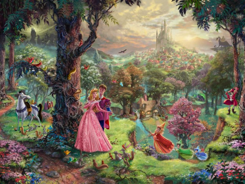 The World Of Disney Wallpaper