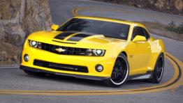 Yellow Camaro Wallpaper