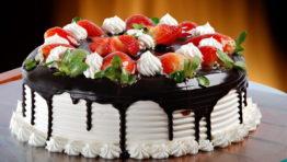 Yummy Cake Wallpaper